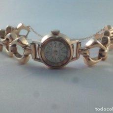 Relojes de pulsera: ORO 18 KILATES., ANTIGUO RELOJ CAUNY. SWISS MADE.. Lote 138608878