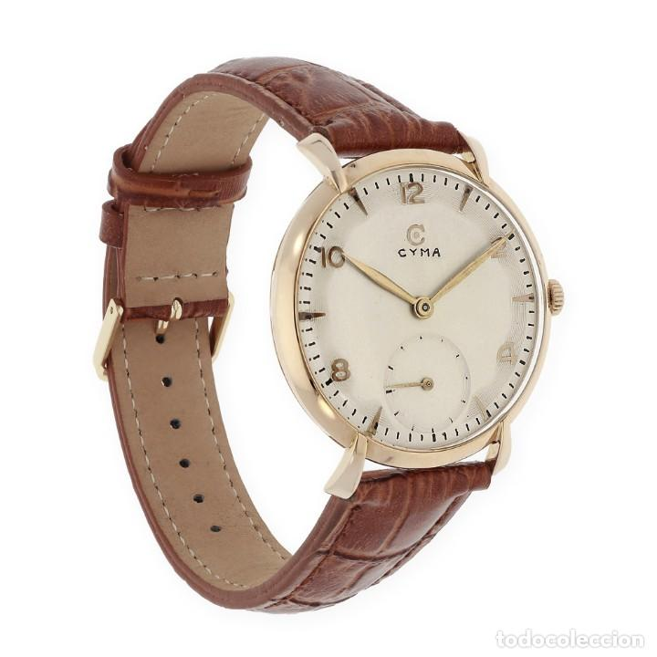 Relojes de pulsera: Cyma Vintage Manual Oro 18k Reloj para Caballero - Foto 2 - 138743574