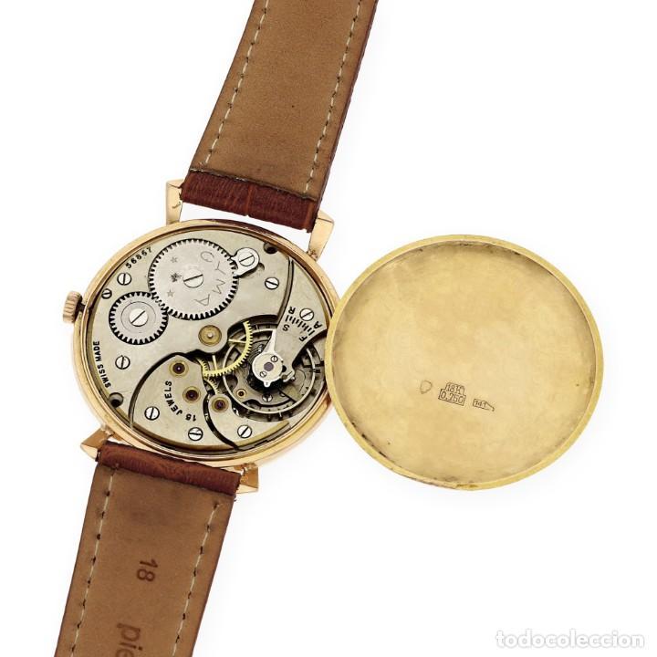 Relojes de pulsera: Cyma Vintage Manual Oro 18k Reloj para Caballero - Foto 9 - 138743574