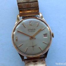 Relojes de pulsera: RELOJ CUERDA CHAPADO. Lote 138792346