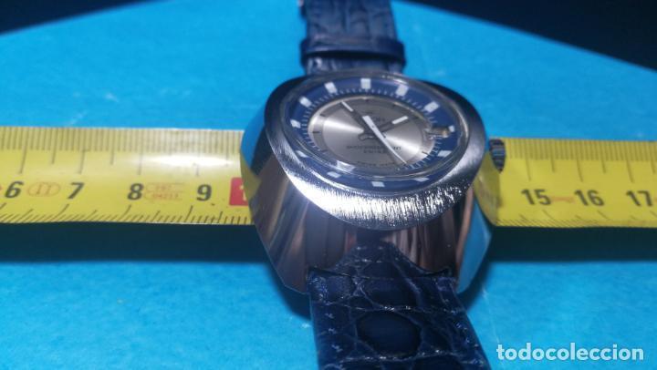Relojes de pulsera: Botito reloj Orion grande de caballero con botita esfera azul marino, funcionando - Foto 52 - 139002582