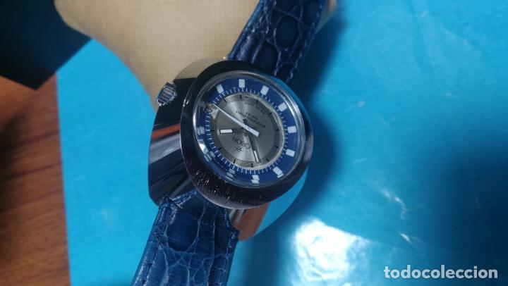 Relojes de pulsera: Botito reloj Orion grande de caballero con botita esfera azul marino, funcionando - Foto 55 - 139002582