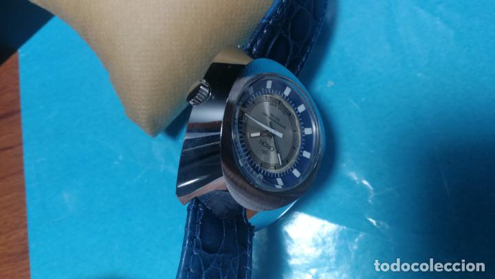 Relojes de pulsera: Botito reloj Orion grande de caballero con botita esfera azul marino, funcionando - Foto 56 - 139002582