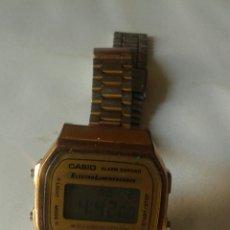 Relojes de pulsera: RELOJ CASIO A168, WATER RESIST , LUZ VERDE.. Lote 139068052