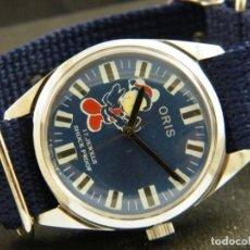 Relojes de pulsera: ANTIGUO RELOJ ORIS DISNEY.FUNCIONANDO MICKEY. AÑOS 50.. Lote 139129818