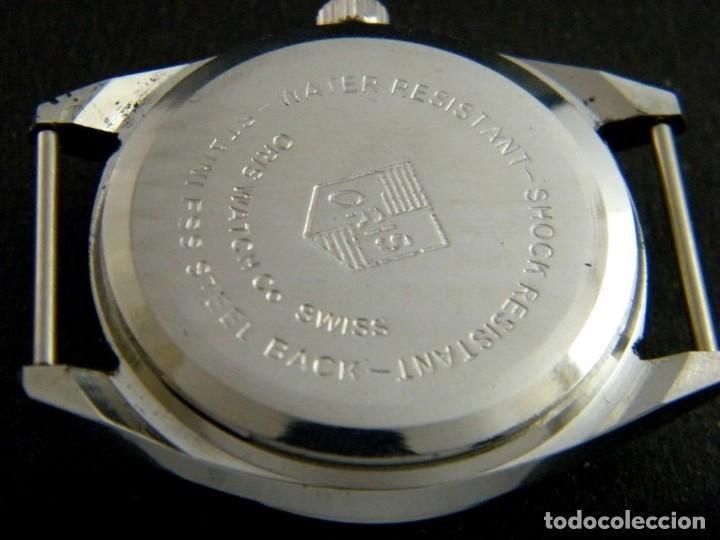 Relojes de pulsera: antiguo reloj oris disney.funcionando mickey. años 50. - Foto 3 - 139129818