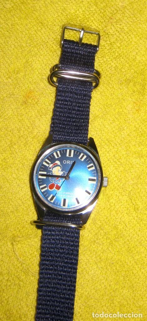 Relojes de pulsera: antiguo reloj oris disney.funcionando mickey. años 50. - Foto 7 - 139129818