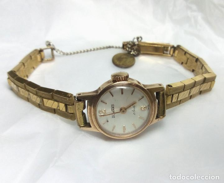 RELOJ VINTAGE DUWARD DE CARGA MANUAL 17R SWISS - CAJA 17 MM - NO FUNCIONA (Relojes - Pulsera Carga Manual)