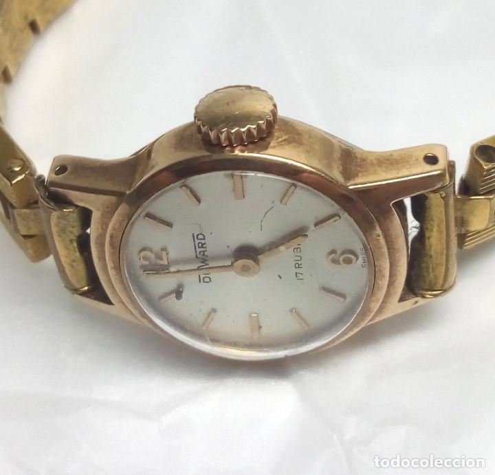Relojes de pulsera: RELOJ VINTAGE DUWARD DE CARGA MANUAL 17R SWISS - CAJA 17 mm - NO FUNCIONA - Foto 2 - 139204850