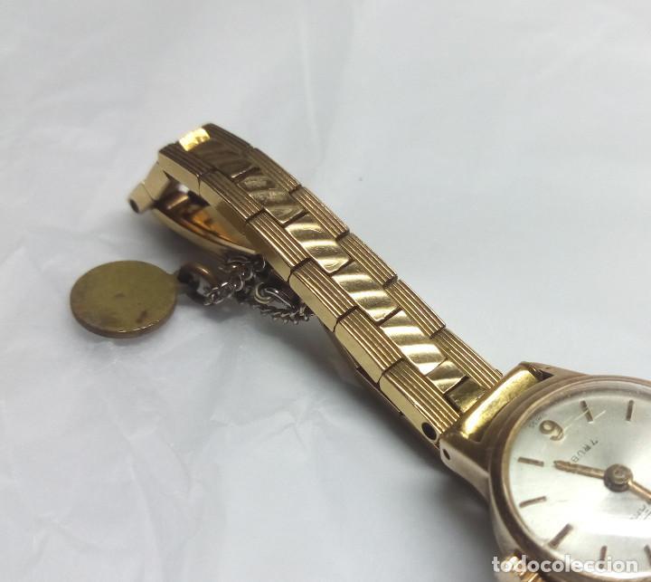 Relojes de pulsera: RELOJ VINTAGE DUWARD DE CARGA MANUAL 17R SWISS - CAJA 17 mm - NO FUNCIONA - Foto 3 - 139204850