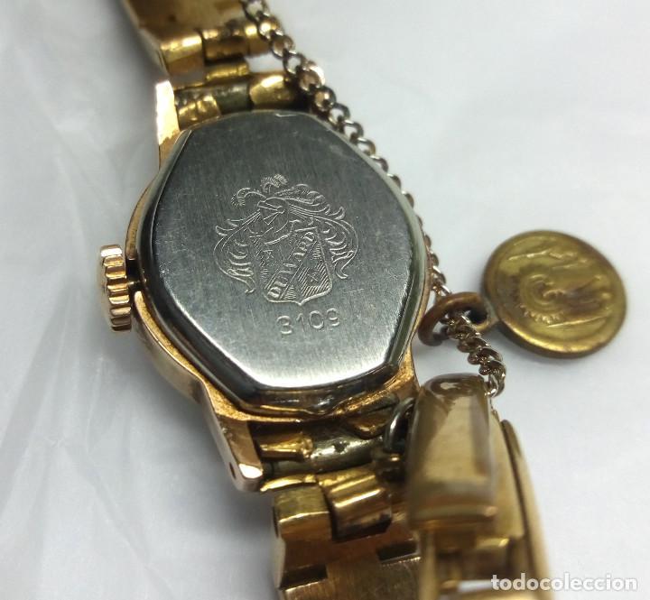 Relojes de pulsera: RELOJ VINTAGE DUWARD DE CARGA MANUAL 17R SWISS - CAJA 17 mm - NO FUNCIONA - Foto 4 - 139204850