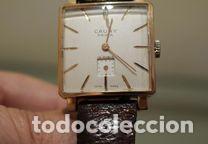 Relojes de pulsera: Reloj Cauny Prima Lunette-Carrure Plaque Or 10 Microns 15 rubis a Funcionar - Foto 2 - 139287446
