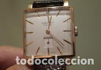 Relojes de pulsera: Reloj Cauny Prima Lunette-Carrure Plaque Or 10 Microns 15 rubis a Funcionar - Foto 3 - 139287446