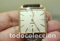 Relojes de pulsera: Reloj Cauny Prima Lunette-Carrure Plaque Or 10 Microns 15 rubis a Funcionar - Foto 6 - 139287446