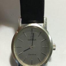 Relojes de pulsera: RELOJ OMEGA GENEVE CARGA MANUAL CAJA CHAPADA ORO 20MICRAS BLANCO COMO NUEVO B. Lote 139341237