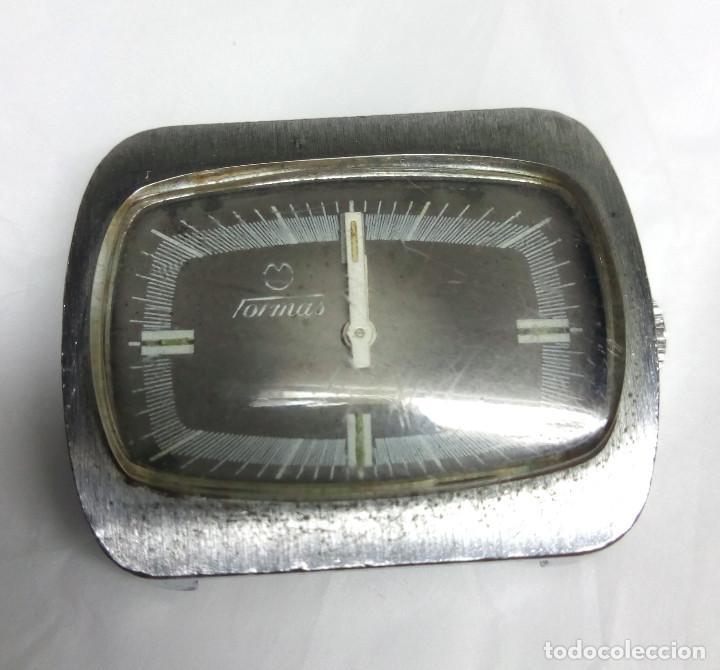 RELOJ TORMAS DE CARGA MANUAL - CAJA 34 MM - PARA PIEZAS O REPARAR (Relojes - Pulsera Carga Manual)