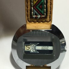 Relojes de pulsera: RELOJ VADUR DIGITAL MODELO VINTAGE PARA COLECCIONISTAS COMO NUEVO REPASADO. Lote 143457180