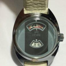 Relojes de pulsera: RELOJ LUYPE DIGITAL ANTIGUO CARGA MANUAL COMO NUEVO PARA COLECCIONISTAS. Lote 143456064