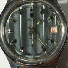 Relojes de pulsera: RELOJ CAUNY PRIMA CARGA MANUAL CAJA DE ACERO COMO NUEVO DE FABRICA PARA COLECCIONISTAS. Lote 143456670