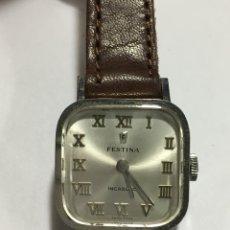 Relojes de pulsera: RELOJ FESTINA CARGA MANUAL MODELO VINTAGE PARA COLECCIONISTAS COMO NUEVO REPASADO. Lote 143457112