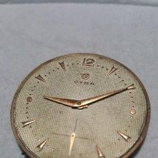 Relojes de pulsera: MOVIMIENTO RELOJ CYMA 15RUVIS CALIBRE 586 REFERENCIA 178262 DIAMETRO DIAL 39 MILIMETROS FUNCIONA. Lote 139683522