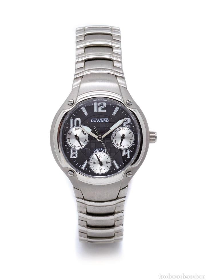 Relojes de pulsera: DOS RELOJES DUWARD SEÑORA ACERO - Foto 2 - 139742752