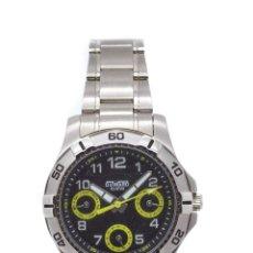 Relojes de pulsera: DOS RELOJES DUWARD UNISEX ACERO. Lote 139743132