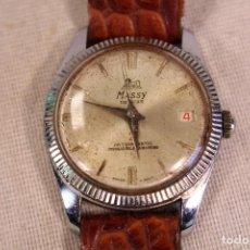 Relojes de pulsera: RELOJ MANUAL MASSY DE LUXE - SWISS. Lote 139778650