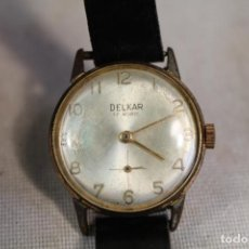 Relojes de pulsera: RELOJ MANUAL DELKAR 17 RUBIS. Lote 139778818