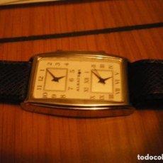 Relojes de pulsera: RELOJ DE PULSERA MARCA ALBATROS NUEVO CON DOS NUMERACIONES HORARIAS.. Lote 139893850