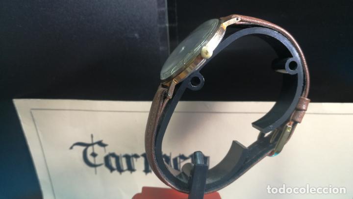 Relojes de pulsera: Botito reloj de cuerda antiguo Cler Walch, funcionando, chapado en oro,de caballero - Foto 11 - 140290502