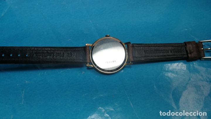 Relojes de pulsera: Botito reloj de cuerda antiguo Cler Walch, funcionando, chapado en oro,de caballero - Foto 31 - 140290502