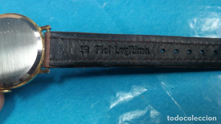 Relojes de pulsera: Botito reloj de cuerda antiguo Cler Walch, funcionando, chapado en oro,de caballero - Foto 34 - 140290502