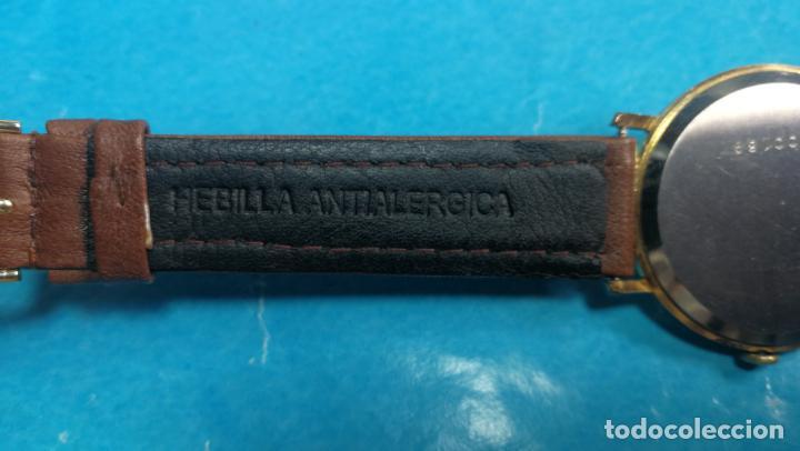 Relojes de pulsera: Botito reloj de cuerda antiguo Cler Walch, funcionando, chapado en oro,de caballero - Foto 35 - 140290502