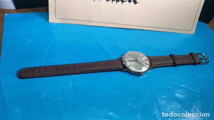 Relojes de pulsera: Botito reloj de cuerda antiguo Cler Walch, funcionando, chapado en oro,de caballero - Foto 39 - 140290502
