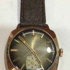Relojes de pulsera: RELOJ FESTINA MADE IN SUIZA VINTAGE CIRCLA 1960CHAPADO ORO 10 MICRAS PERFECTO FUNCIONAMIENTO. Lote 140396486