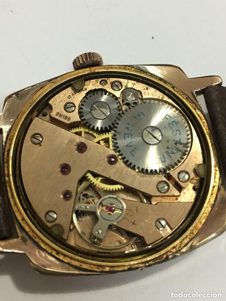 Relojes de pulsera: reloj festina made in suiza vintage circla 1960chapado oro 10 micras perfecto funcionamiento - Foto 2 - 140396486