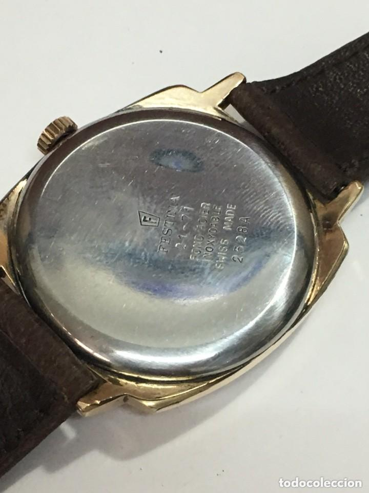 Relojes de pulsera: reloj festina made in suiza vintage circla 1960chapado oro 10 micras perfecto funcionamiento - Foto 5 - 140396486
