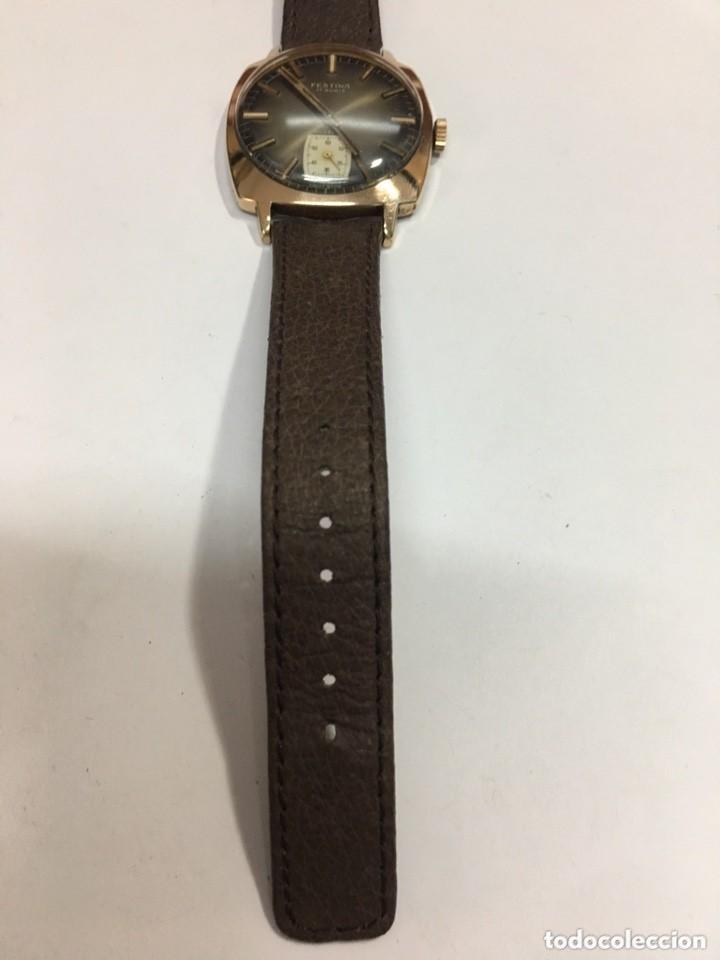 Relojes de pulsera: reloj festina made in suiza vintage circla 1960chapado oro 10 micras perfecto funcionamiento - Foto 8 - 140396486