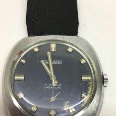 Relojes de pulsera: RELOJ VINTAGE DUWARD GRANDE 17JEWELS N 20298 SUIZO REPASADO,MAQUINARIA PERFECTA. Lote 140396994