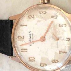 Relojes de pulsera: RELOJ DUWARD JUNIOR,FUNCIONA CIRCLA AÑO 40 ESTADO EXTERIOR INDICA EL TIEMPO USADO. Lote 140399962