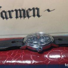 Relojes de pulsera: BOTITO RELOJ DE CUERDA ESTILO MILITAR . Lote 140660010