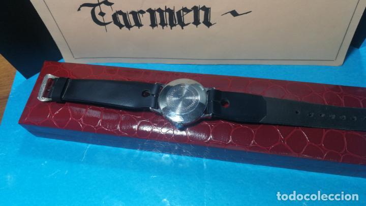 Relojes de pulsera: Botito reloj de cuerda estilo militar - Foto 5 - 140660010