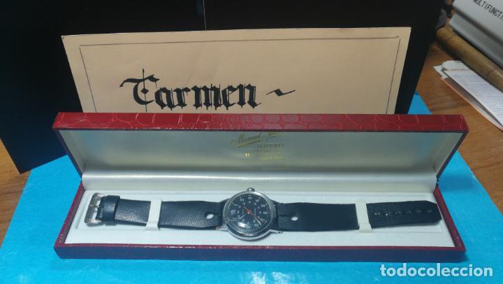 Relojes de pulsera: Botito reloj de cuerda estilo militar - Foto 8 - 140660010