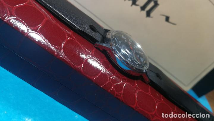 Relojes de pulsera: Botito reloj de cuerda estilo militar - Foto 10 - 140660010