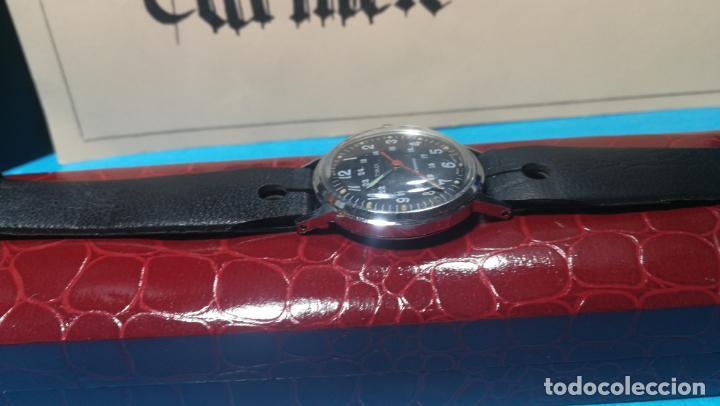 Relojes de pulsera: Botito reloj de cuerda estilo militar - Foto 11 - 140660010