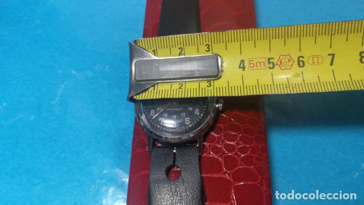 Relojes de pulsera: Botito reloj de cuerda estilo militar - Foto 12 - 140660010