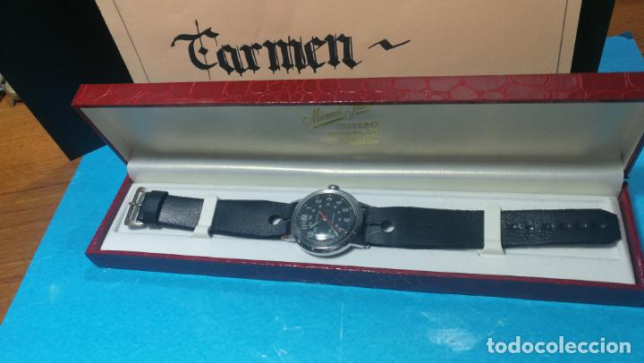Relojes de pulsera: Botito reloj de cuerda estilo militar - Foto 15 - 140660010