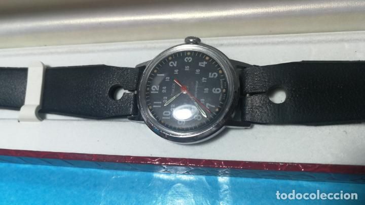 Relojes de pulsera: Botito reloj de cuerda estilo militar - Foto 16 - 140660010