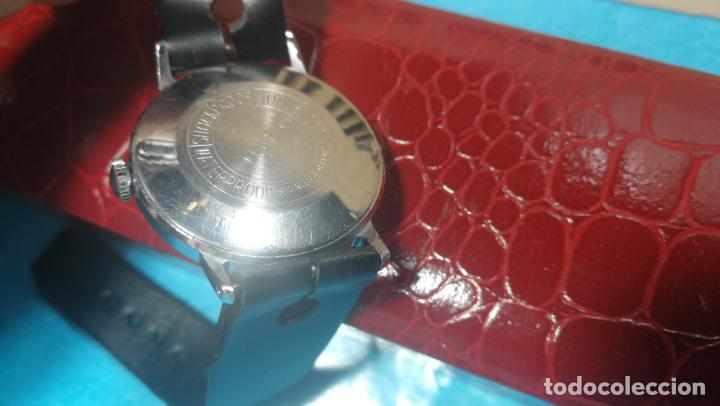 Relojes de pulsera: Botito reloj de cuerda estilo militar - Foto 20 - 140660010